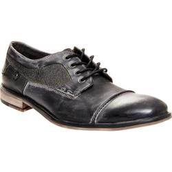 Men's Steve Madden Jagwar Cap-Toe Oxford Grey Leather