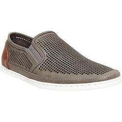 Men's Steve Madden Factionn Slip On Grey Leather