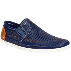 Men's Steve Madden Factionn Slip On Navy Leather