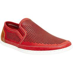 Men's Steve Madden Factionn Slip On Red Leather