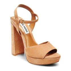 Women's Steve Madden Kierra Platform Sandal Camel Nubuck