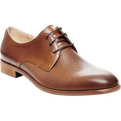 Men's Steve Madden Luigge Plain Toe Oxford Tan Leather
