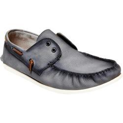 Men's Steve Madden Mayz Boat Shoe Grey Nubuck