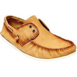 Men's Steve Madden Mayz Boat Shoe Tan Nubuck