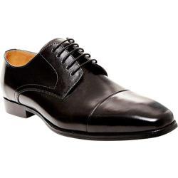 Men's Steve Madden Milnerr Cap Toe Oxford Black Leather