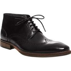 Men's Steve Madden Parcell Ankle Boot Black Leather