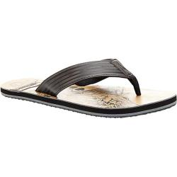Men's Steve Madden Talum Thong Sandal Black Synthetic