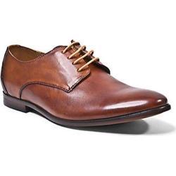 Men's Steve Madden Trotter Plain Toe Oxford Tan Leather