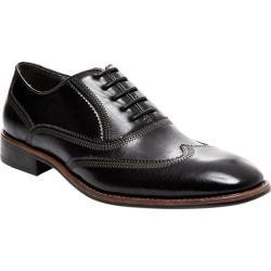 Men's Steve Madden Vysco Wing Tip Oxford Black Synthetic