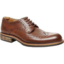 Men's Steve Madden Zino Wing Tip Oxford Brown Synthetic