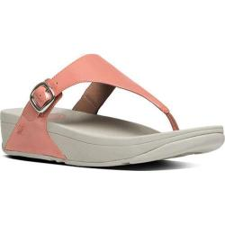 Women's FitFlop The Skinny Thong Sandal Peach Patent