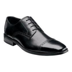 Men's Florsheim Castellano Cap Ox Black Smooth Leather