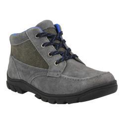 Boys' Florsheim Trektion Hiker Dark Grey Leather