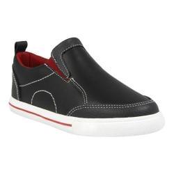 Boys' Florsheim Varsity Slip Jr. Black Smooth Leather
