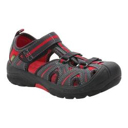 Children's Merrell Hydro Grey/Red Leather