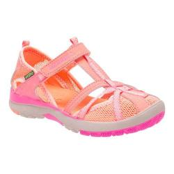 Girls' Merrell Hydro Monarch Sandal Preschool Coral Leather/Mesh