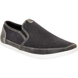 Men's Steve Madden Foleeo Slip-On Sneaker Black Canvas