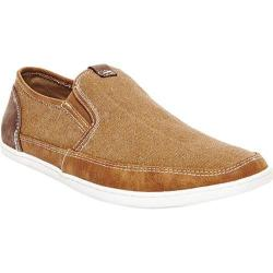 Men's Steve Madden Foleeo Slip-On Sneaker Tan Canvas