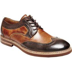 Men's Steve Madden Foutzz Wing Tip Oxford Brown/Tan Leather