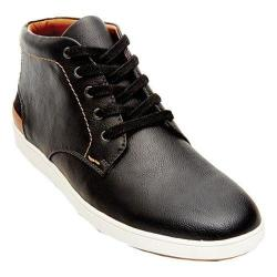 Men's Steve Madden Freedomm High Top Black Synthetic