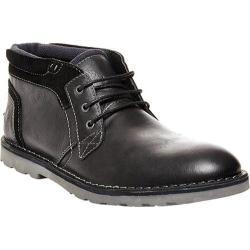 Men's Steve Madden Inflict Chukka Black Leather