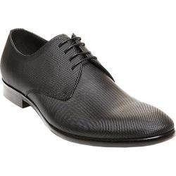 Men's Steve Madden Joter Oxford Black Embossed Leather