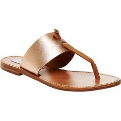 Women's Steve Madden Oliviaa Thong Sandal Rose Gold Leather