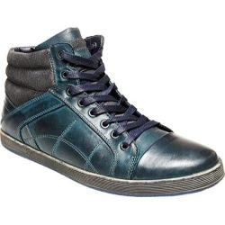Men's Steve Madden Pavano High Top Navy Leather