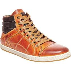 Men's Steve Madden Pavano High Top Tan Leather