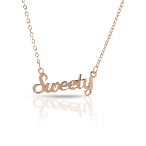 McCarney & J Gold over Silver Necklace