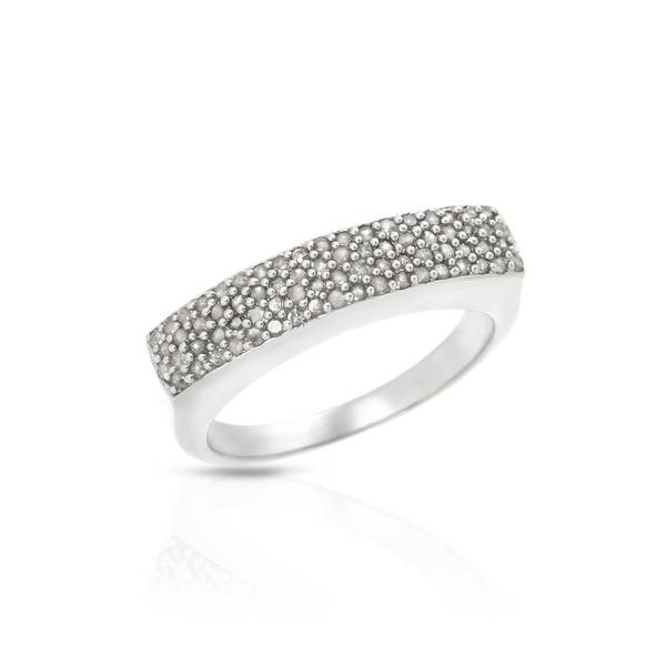 Sterling Silver 1/2ct TW Diamond Ring (Size 7)