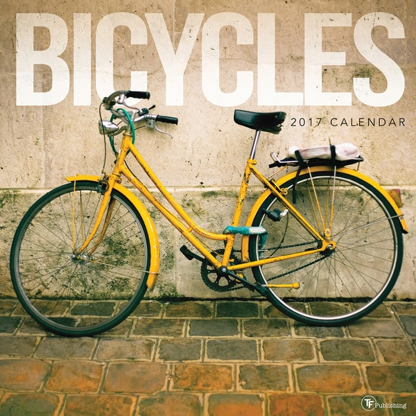 2017 Bicycles Wall Calendar
