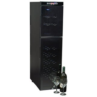 Koolatron 18-bottle Black Dual Zone Wine Cooler