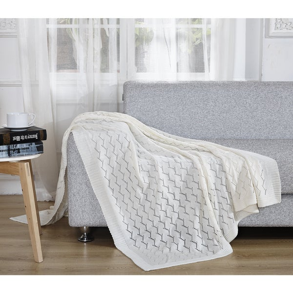 De Moocci Light Weight Knitted Throw
