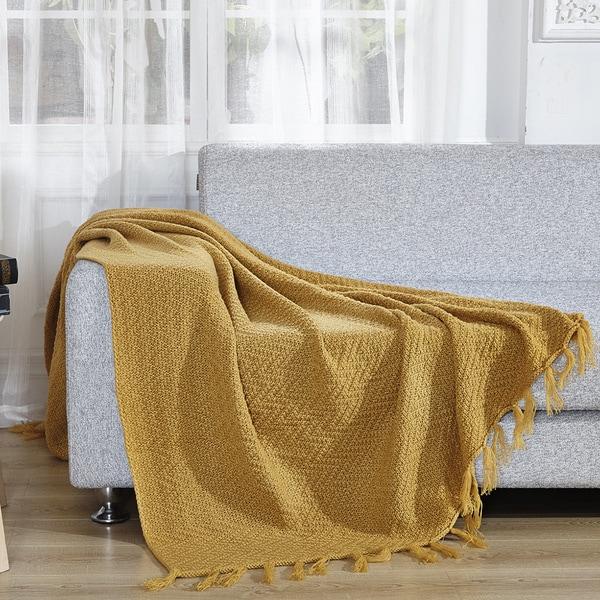 De Moocci Decorative Knitted Throw