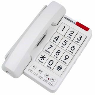 Northwestern Bell MB2060-1 White Big Button Phone
