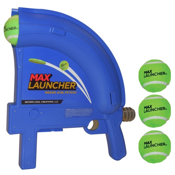 Max Launcher Ball and Flying Disc Launcher