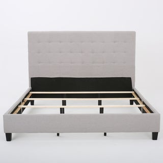 Christopher Knight Home Austin Tufted Fabric King Bed Set