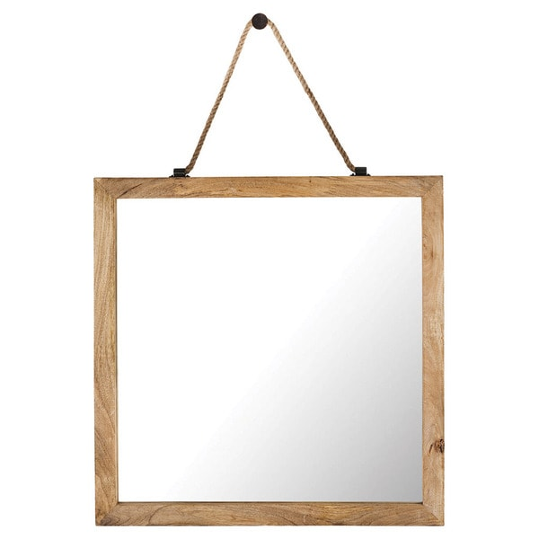 Charlie Framed Square Wall Mirror