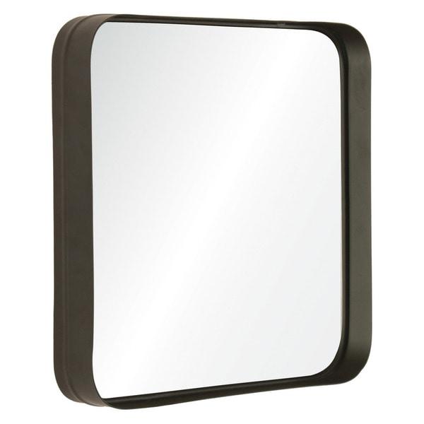 Deja Vu Silver Framed Square Wall Mirror