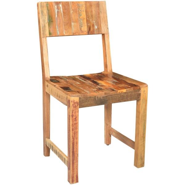Wanderloot Brooklyn Reclaimed Wood Dining Chair 19051688