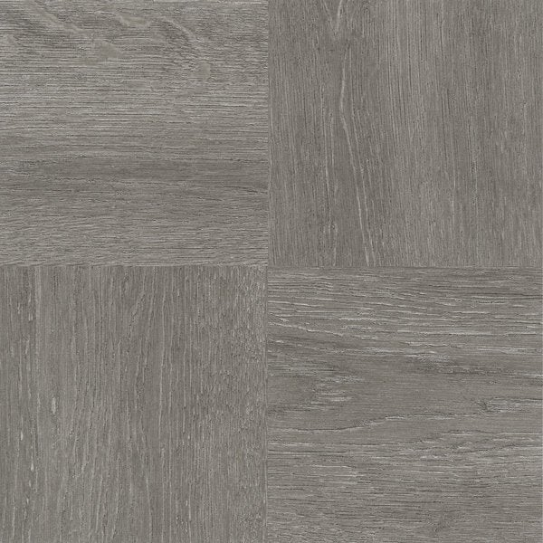 Nexus Charcoal Grey Wood Adhesive Vinyl Floor Tile (Set of 20)