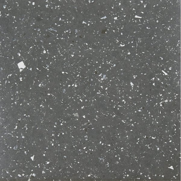 Sterling Black Speckled Granite 12-inch x 12-inch Self-adhesive Vinyl Floor Tile (Case of 20 Tiles/20 square feet) (As Is Item)