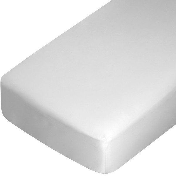 100-percent Egyptian Cotton 300 Thread Count Off-White Fitted Sheet