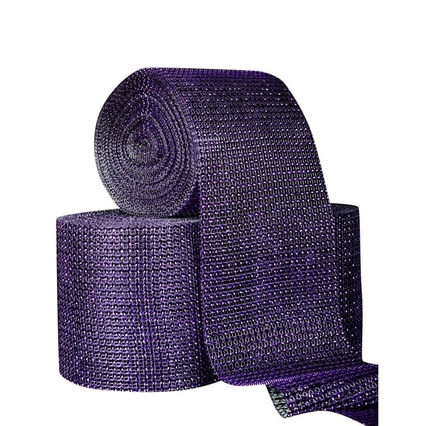 Purple Acrylic Cake Trimming