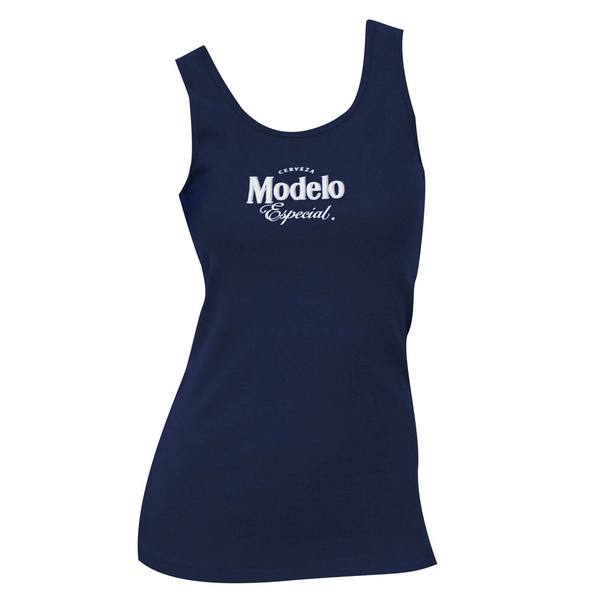 Women's Modelo Navy Blue Tank Top