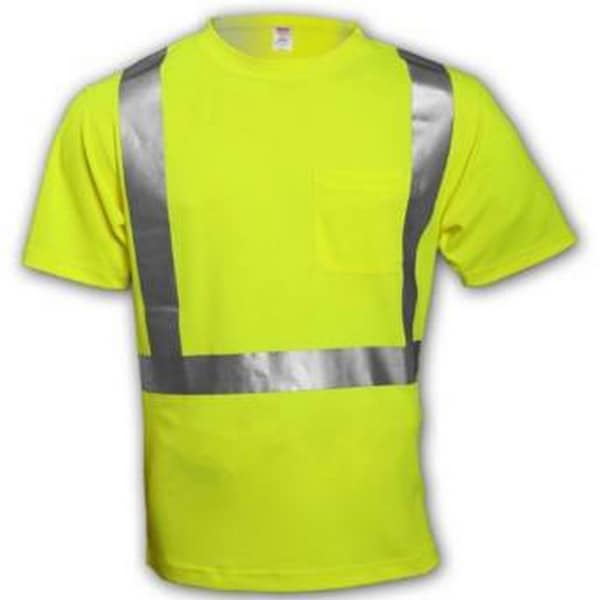 Fluorescent Yellow-Green Class 2 T-Shirt