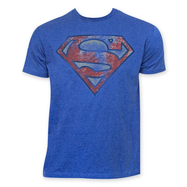 Superman Heather Blue T-shirt