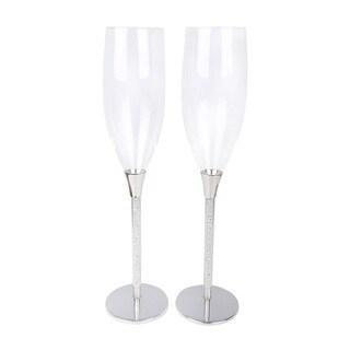 Sparkle Toasting Flutes/Champagne Glasses