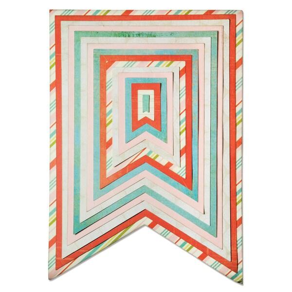 Sizzix Framelits Plus Banners #2 Die Set (Case of 16)